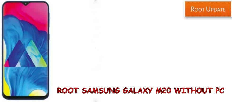 Root Galaxy M20 Without PC