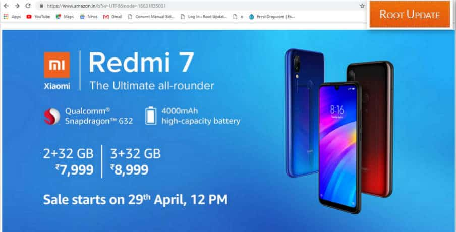 Trick to Autobuy Redmi 7 From Amazon flash sale Script trick