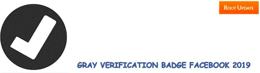 Facebook Page Gray Verification Badge