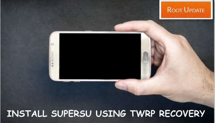 Install Supersu using twrp recovery