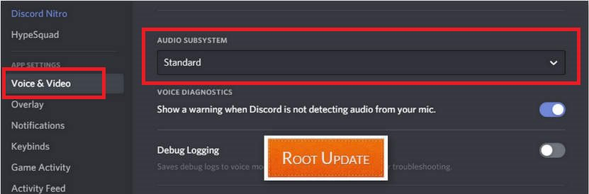 Discord Can't hear Voice