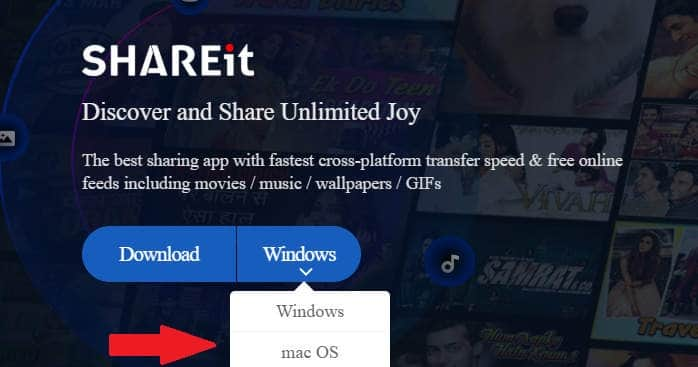 Download Shareit for Windows