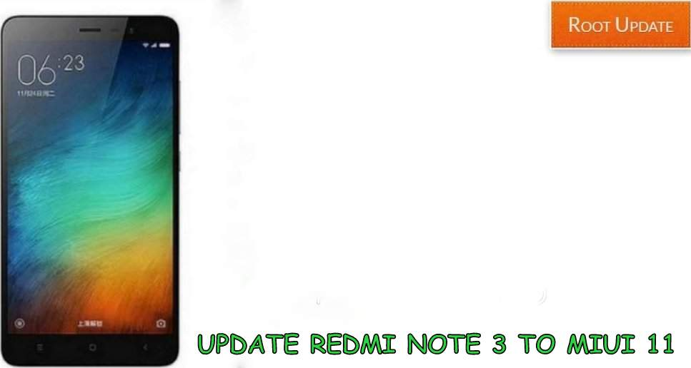Download Miui 11 for Redmi Note 3