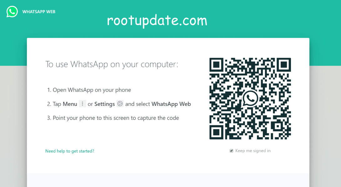 Whatsapp online Login