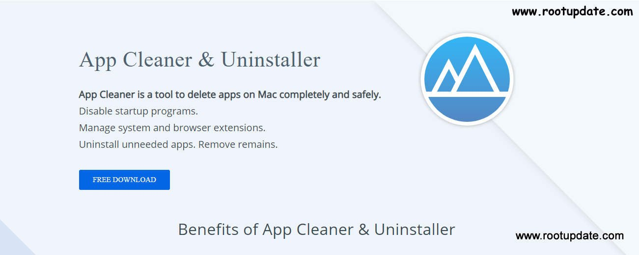 App Cleaner and uninstaller free mac cleaner