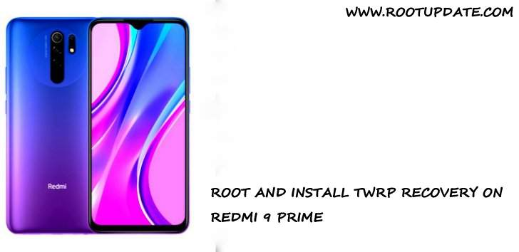 ROOT REDMI 9 PRIME